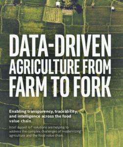 intel agricoltura data driven